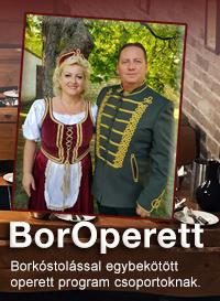 BorOperett Egerben -Szépasszony-völgy zenés est